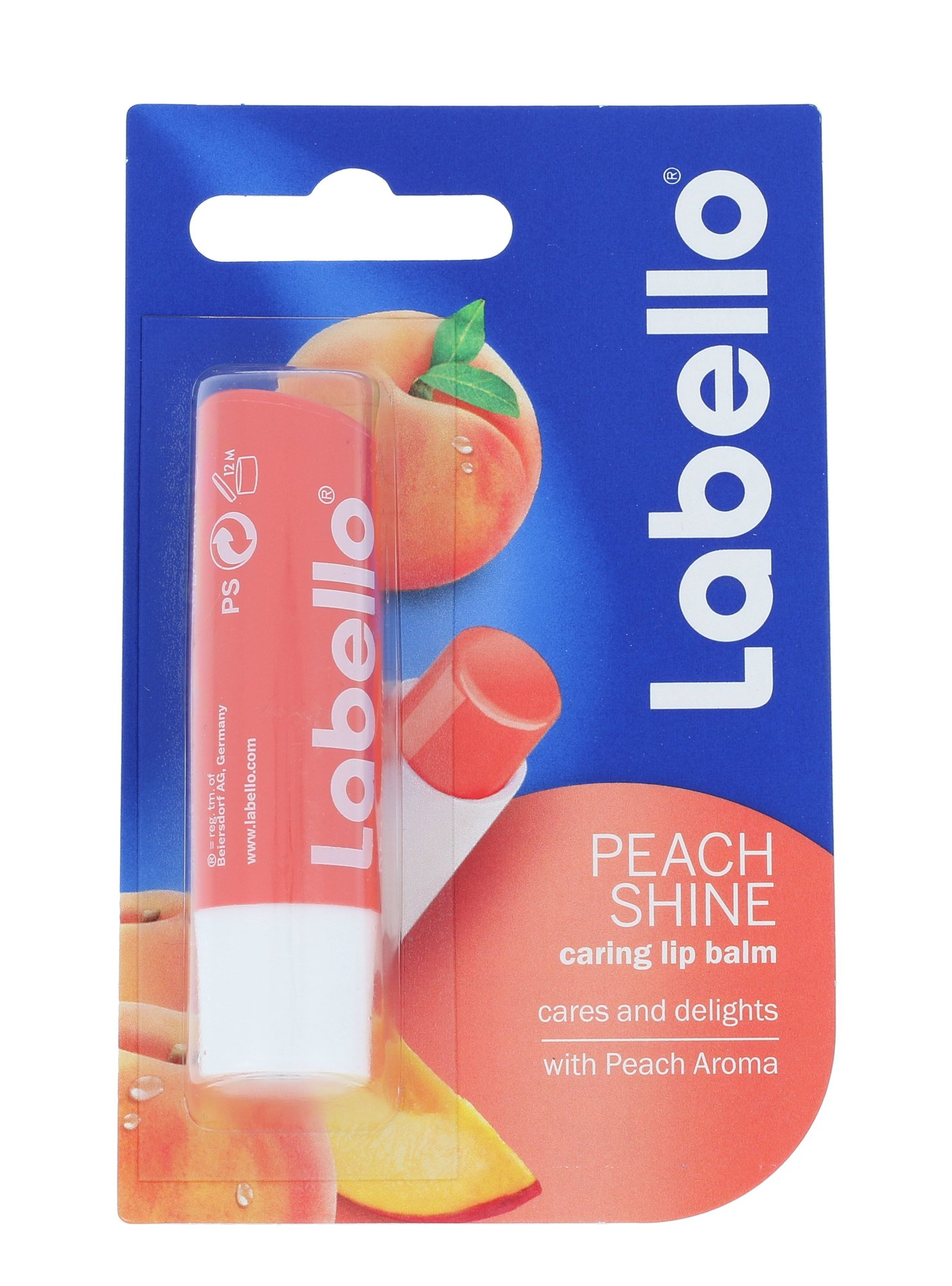 Labello Peach Shine Cosmetic 5,5ml