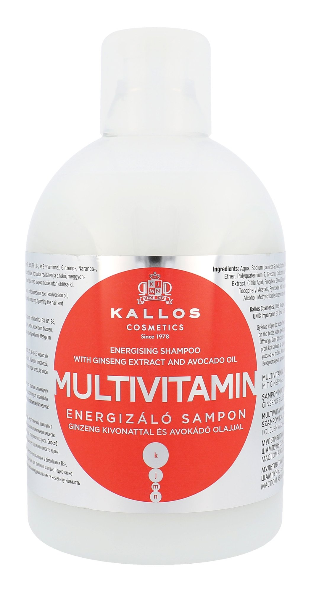 Kallos Cosmetics Multivitamin Cosmetic 1000ml