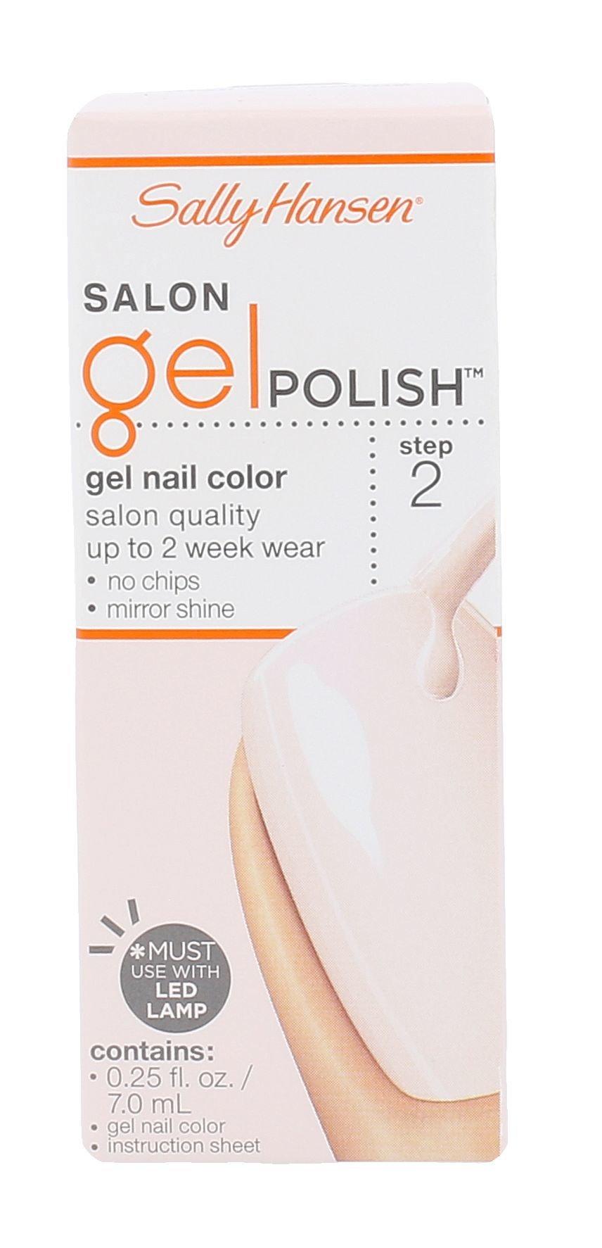 Sally Hansen Salon Gel Polish Cosmetic 7ml 130 Shell We Dance