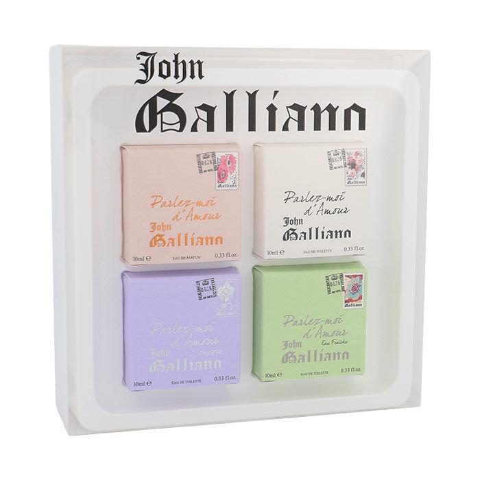 John Galliano Parlez-Moi d´Amour EDP 4x10ml