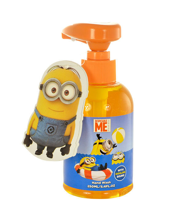 Minions Hand Wash Cosmetic 250ml  With Giggling Sound