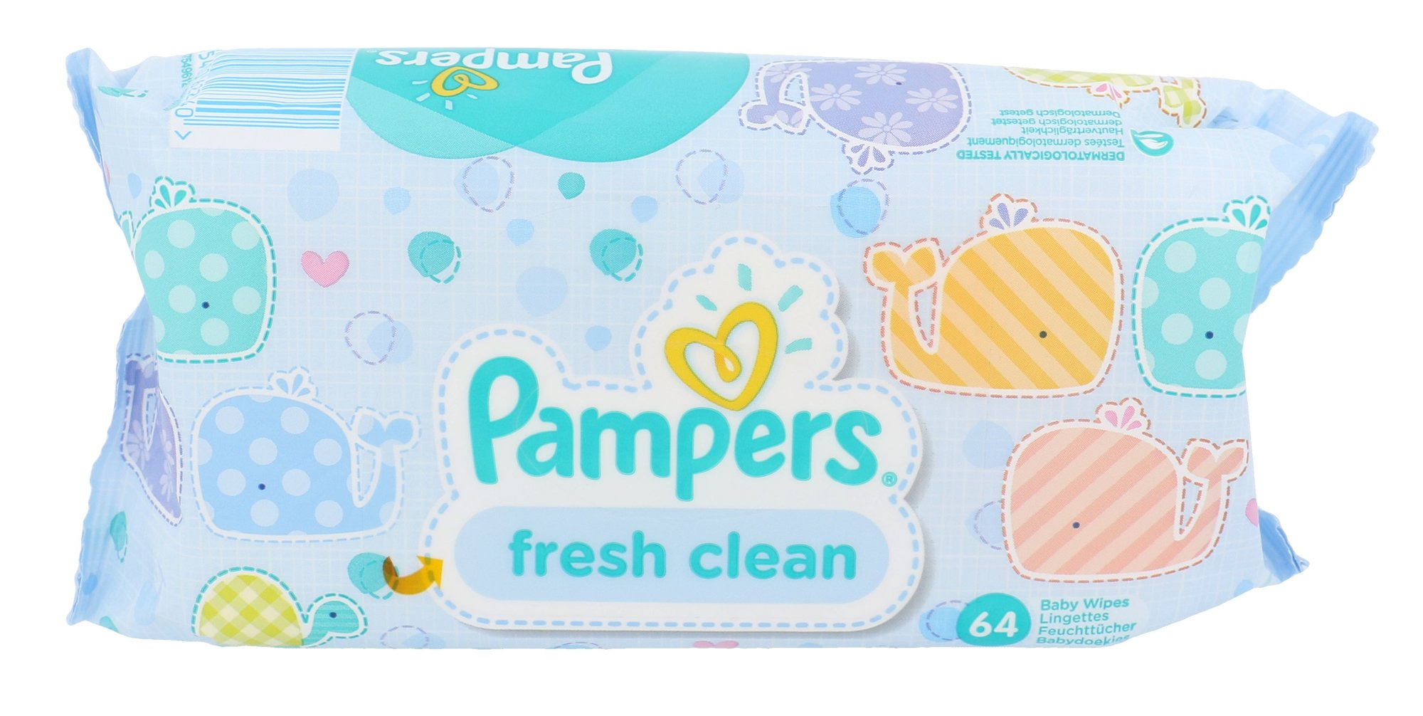 Pampers Baby Wipes Cosmetic 64ml  Fresh Clean