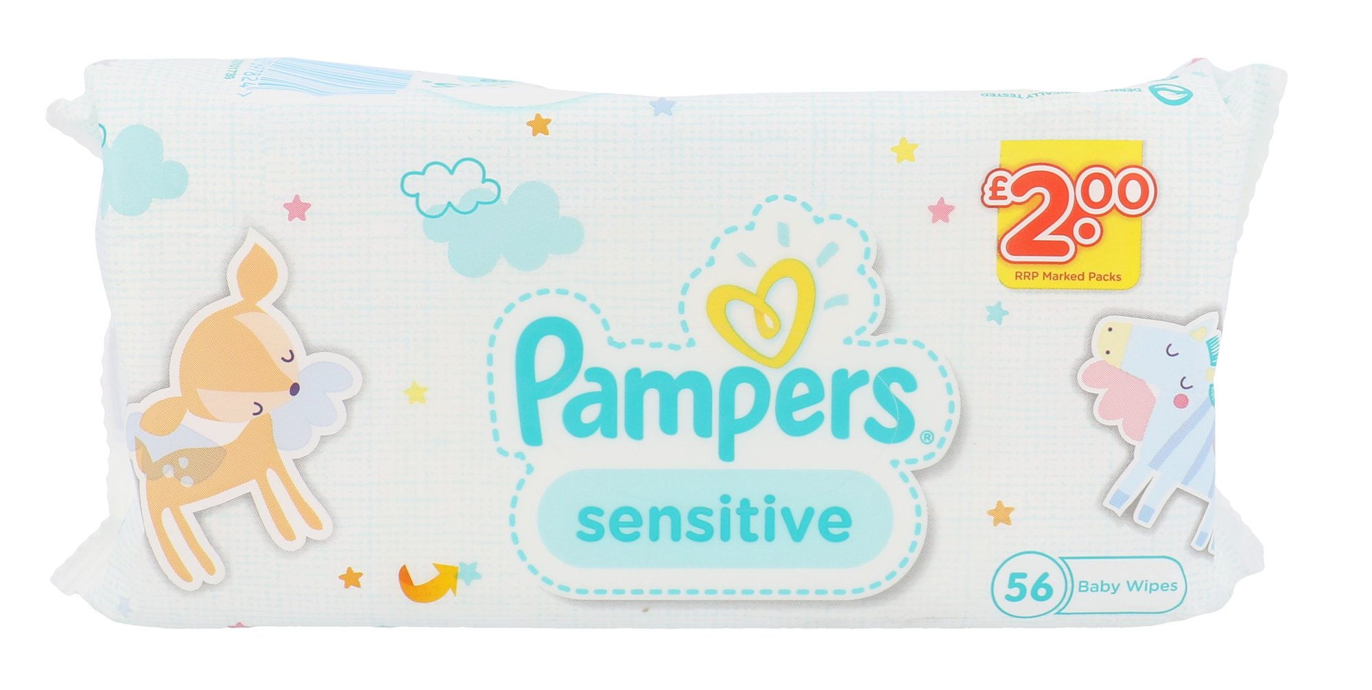 Pampers Baby Wipes Cosmetic 56ml  Sensitive
