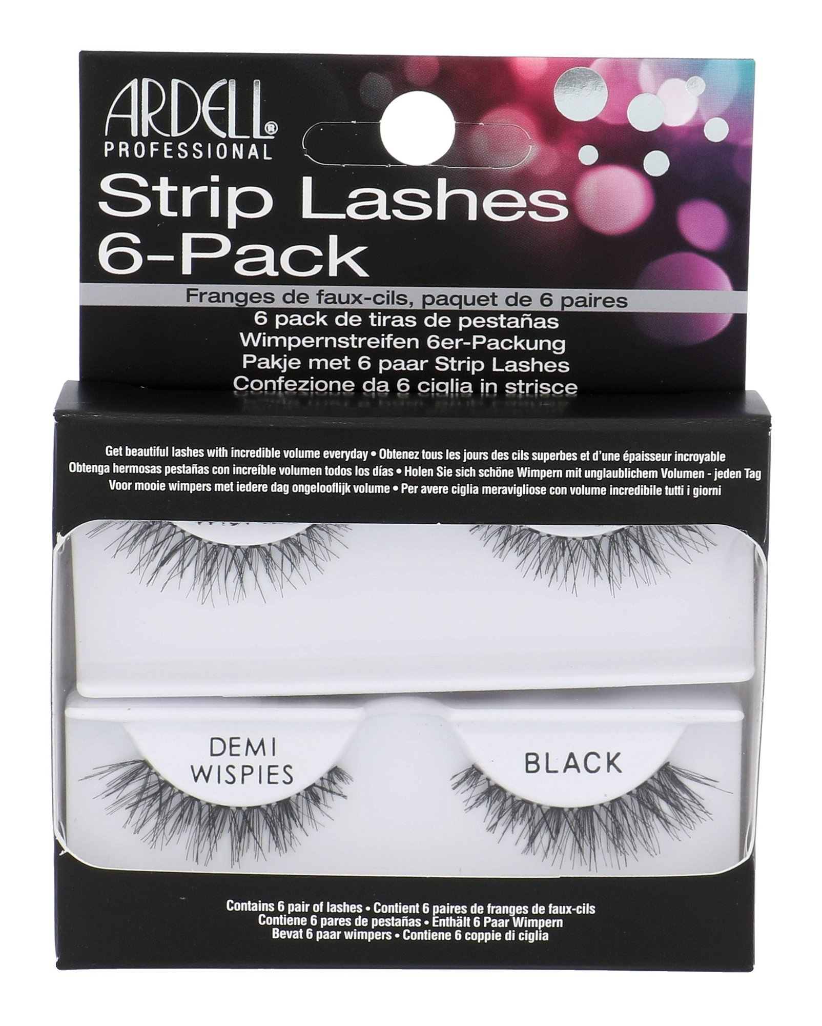 Ardell Strip Lashes Cosmetic 1ml Black