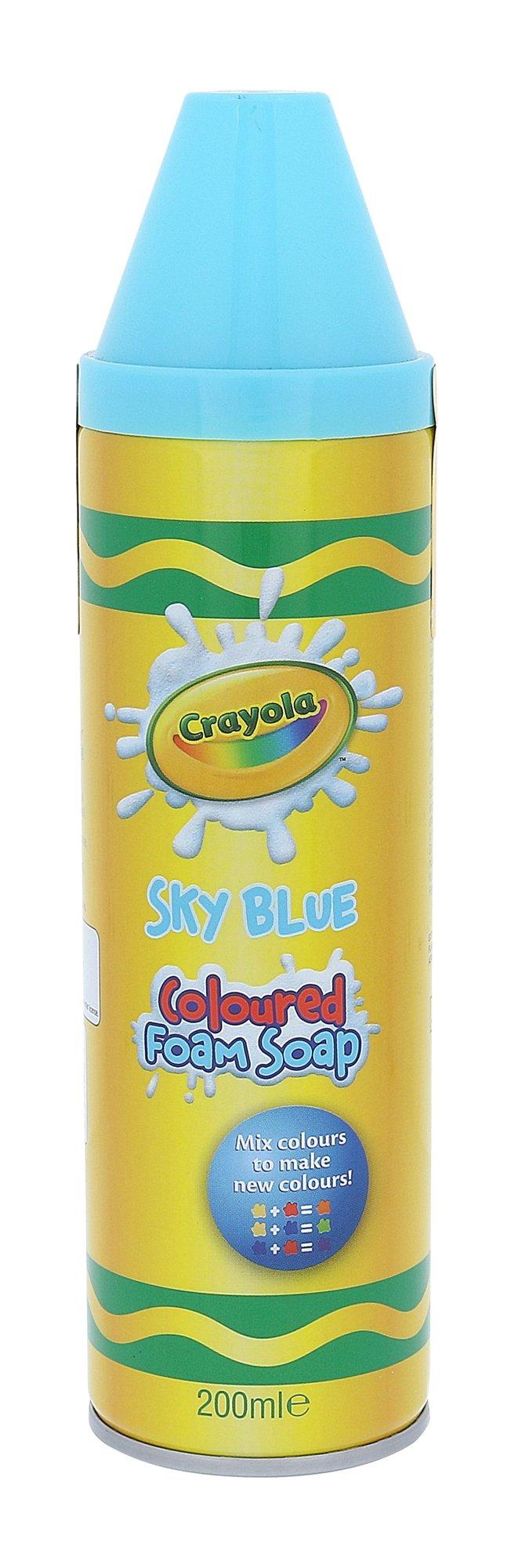 Crayola Coloured Foam Soap Cosmetic 200ml Sky Blue
