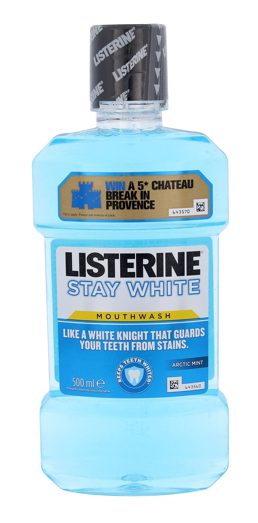 Listerine Mouthwash Cosmetic 500ml  Stay White