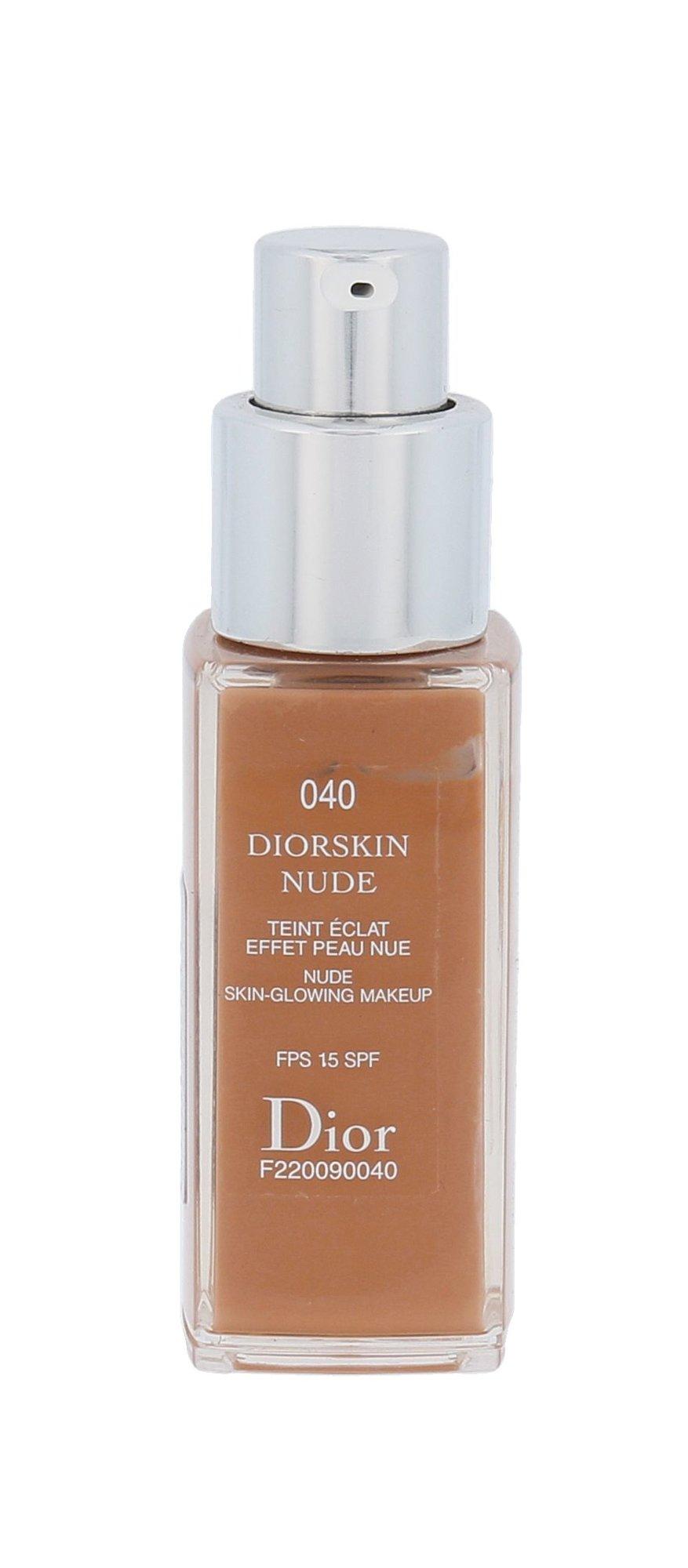 Christian Dior Diorskin Nude Cosmetic 20ml 040 Honey Beige