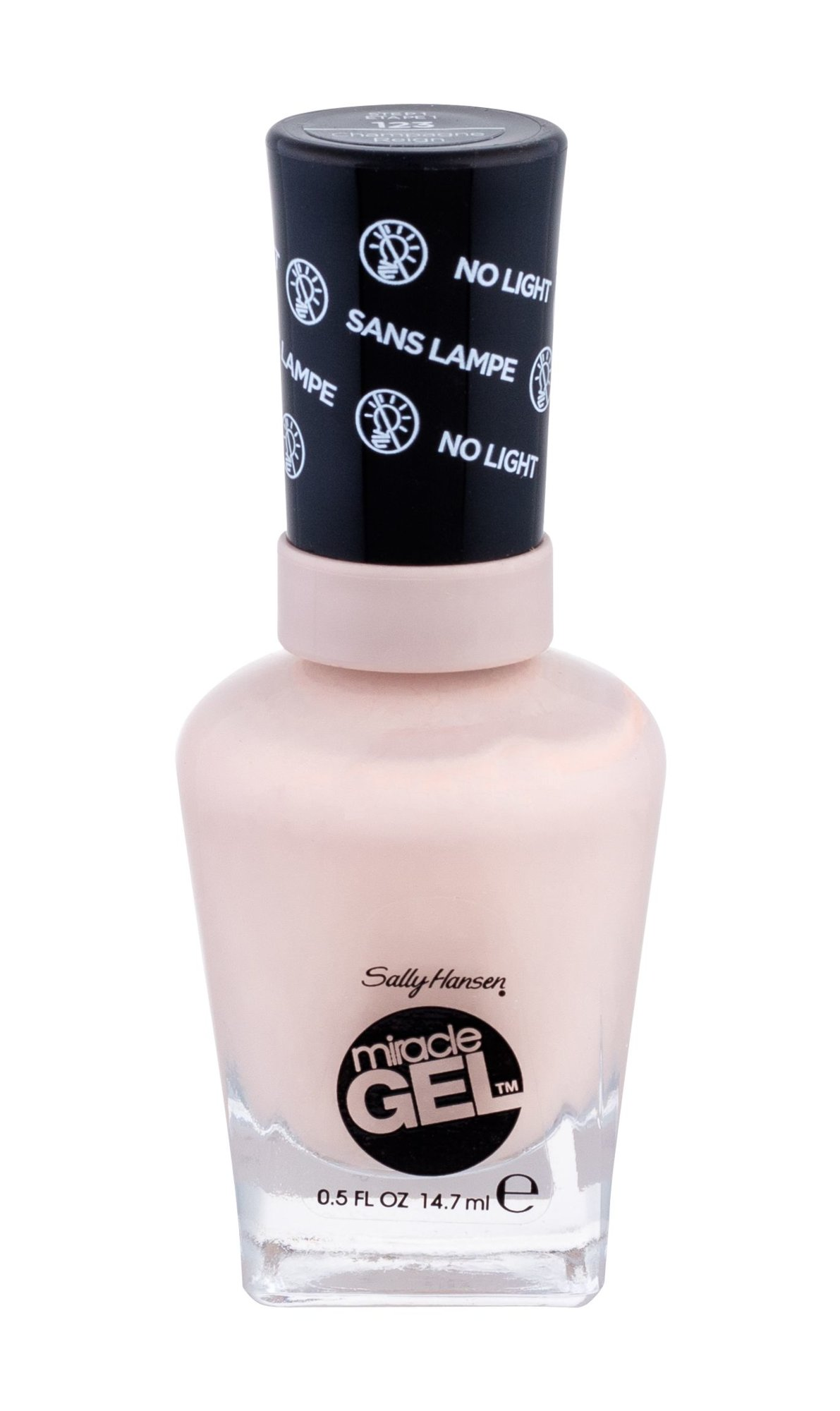 Sally Hansen Miracle Gel Cosmetic 14,7ml 123 Champagne Reign