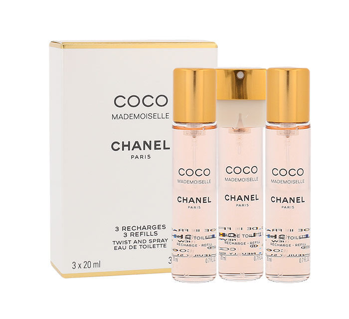 Chanel Coco Mademoiselle EDT 3x20ml
