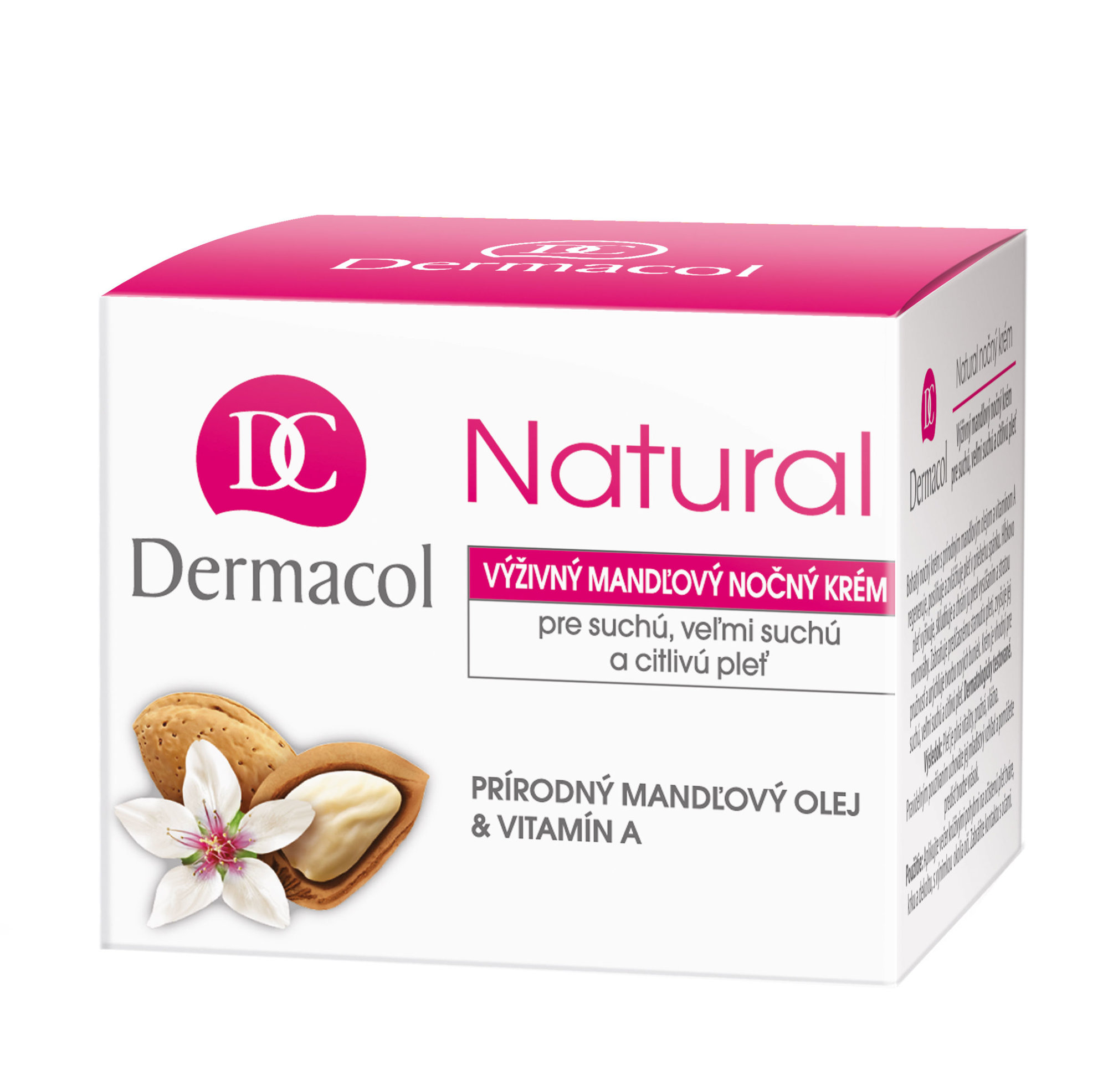 Dermacol Natural Almond Cosmetic 50ml