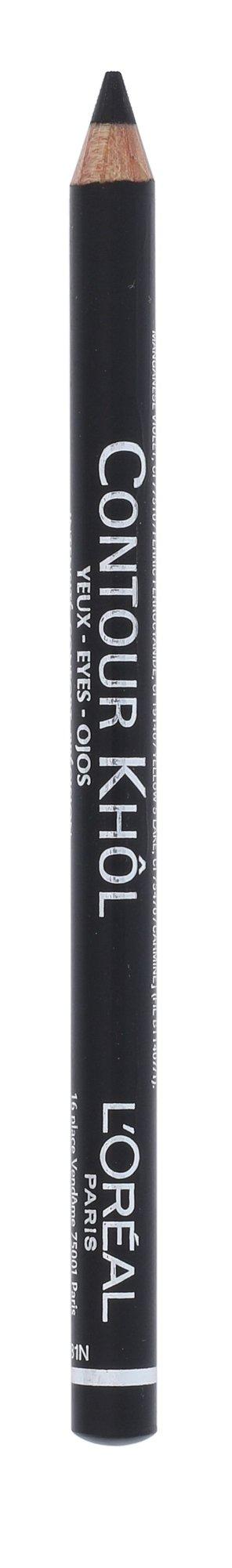 L´Oréal Paris Color Riche Cosmetic 1,2ml 101 Midnight Black