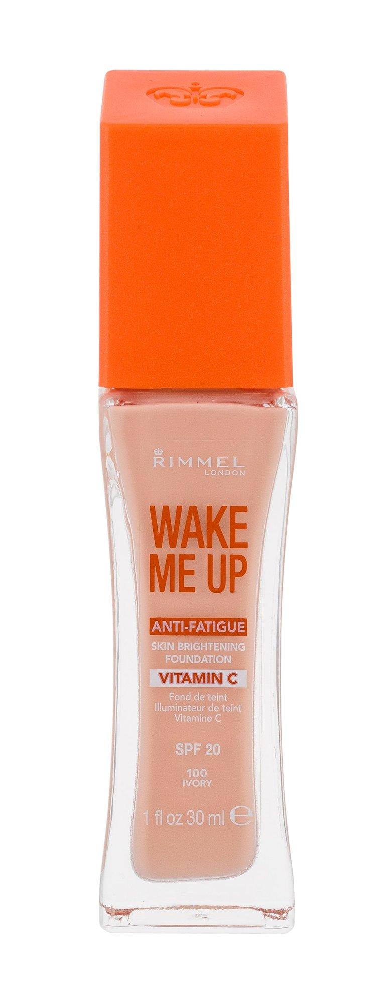 Rimmel London Wake Me Up Cosmetic 30ml 100 Ivory