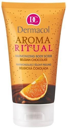 Kūno šveitiklis Dermacol Aroma Ritual Harmonizing Body Scrub Belgian Choco