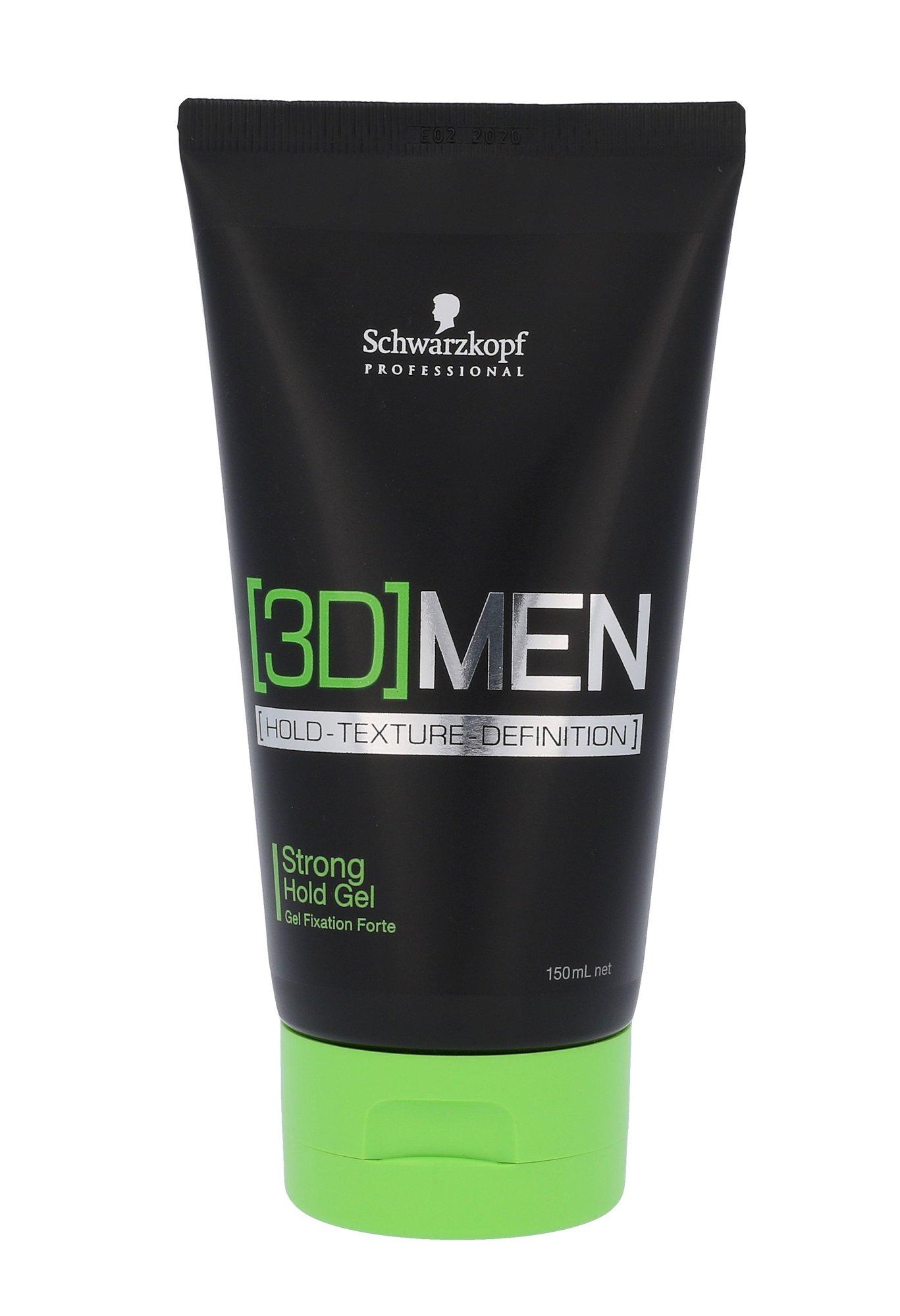 Schwarzkopf Professional 3DMEN Cosmetic 150ml