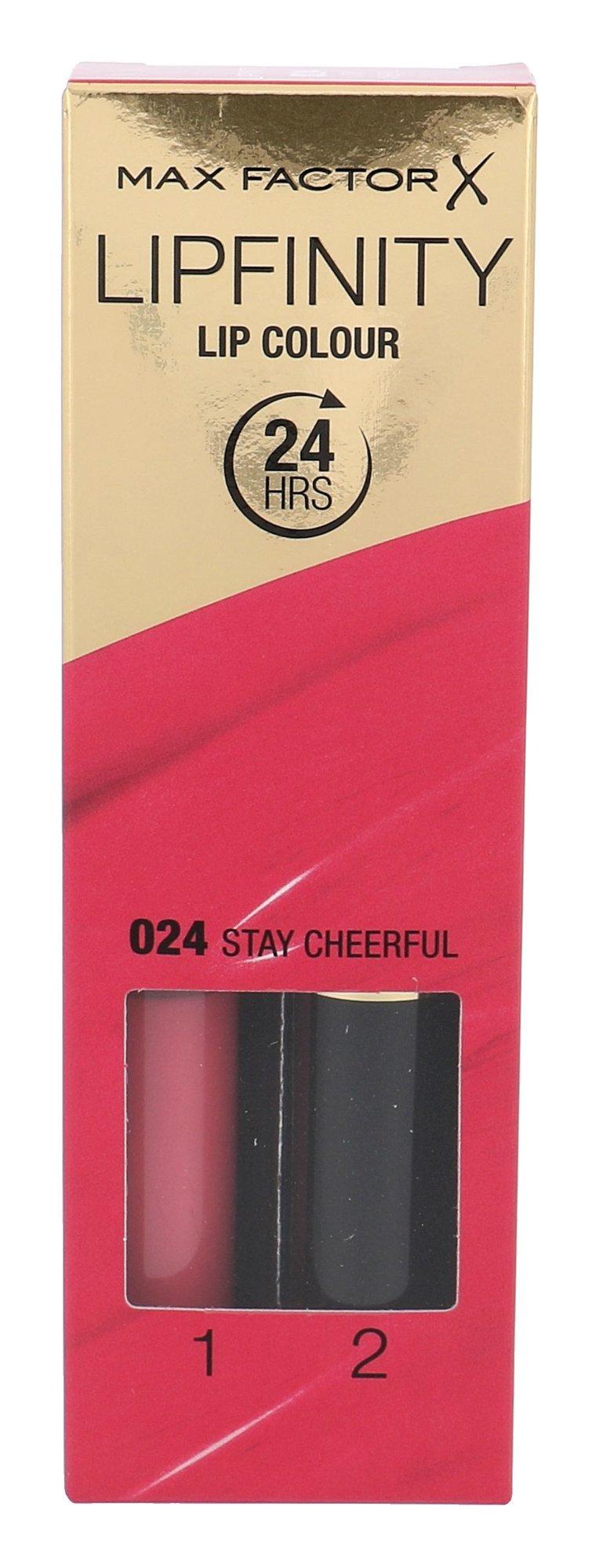 Max Factor Lipfinity Cosmetic 4,2ml 024 Stay Cheerful