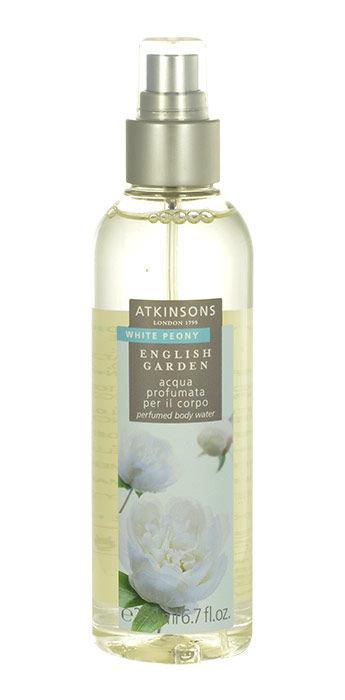 Atkinsons English Garden White Peony Tělová voda 200ml