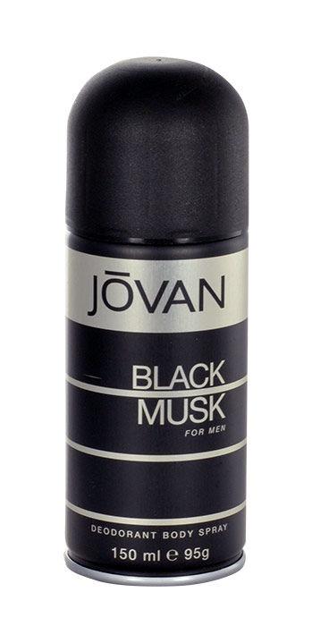 Jovan Musk Black For Men Deodorant 150ml