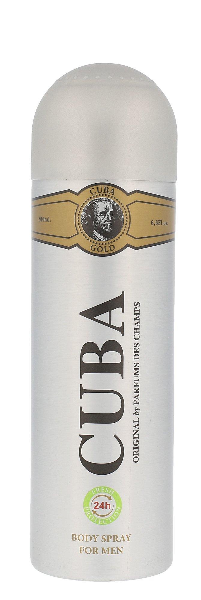 Cuba Gold Deodorant 200ml