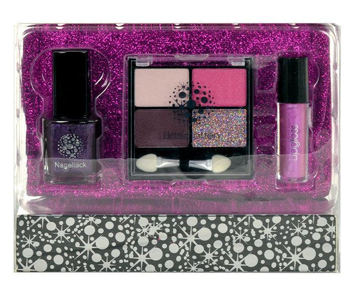Makeup Trading Schmink Set Glitter Fuchsia Cosmetic 21,8g