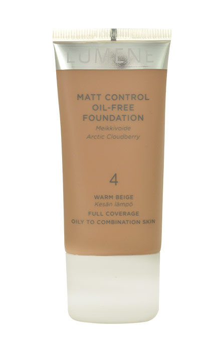 Lumene Matte Control Cosmetic 30ml 3 Fresh Apricot Oil-Free Foundation