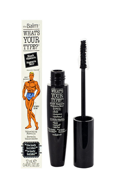 TheBalm What´s Your Type? The Body Builder Cosmetic 12ml Black