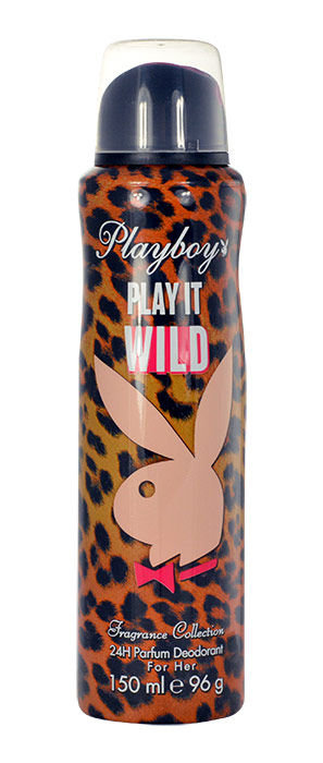 Playboy Play It Wild For Her Deodorant 150ml