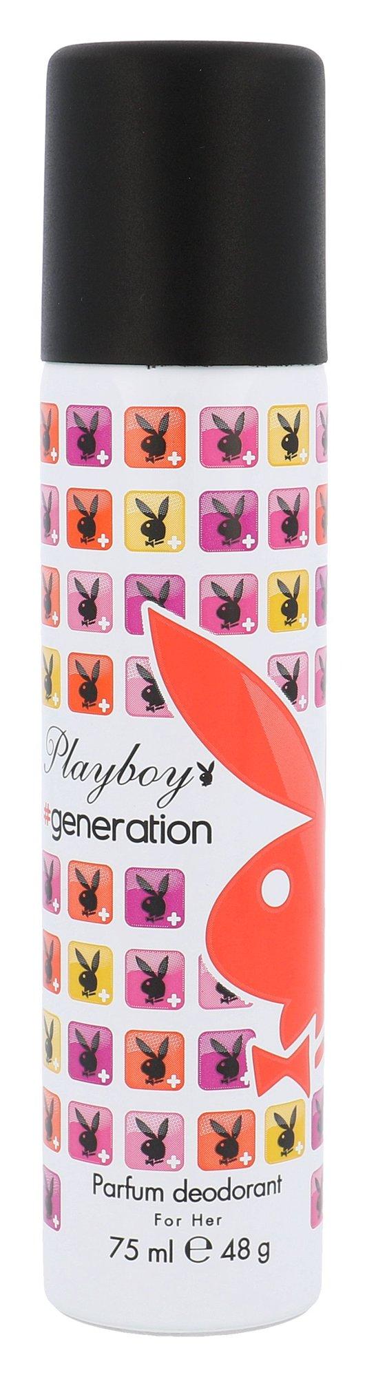 Playboy Generation For Her Deodorant 75ml