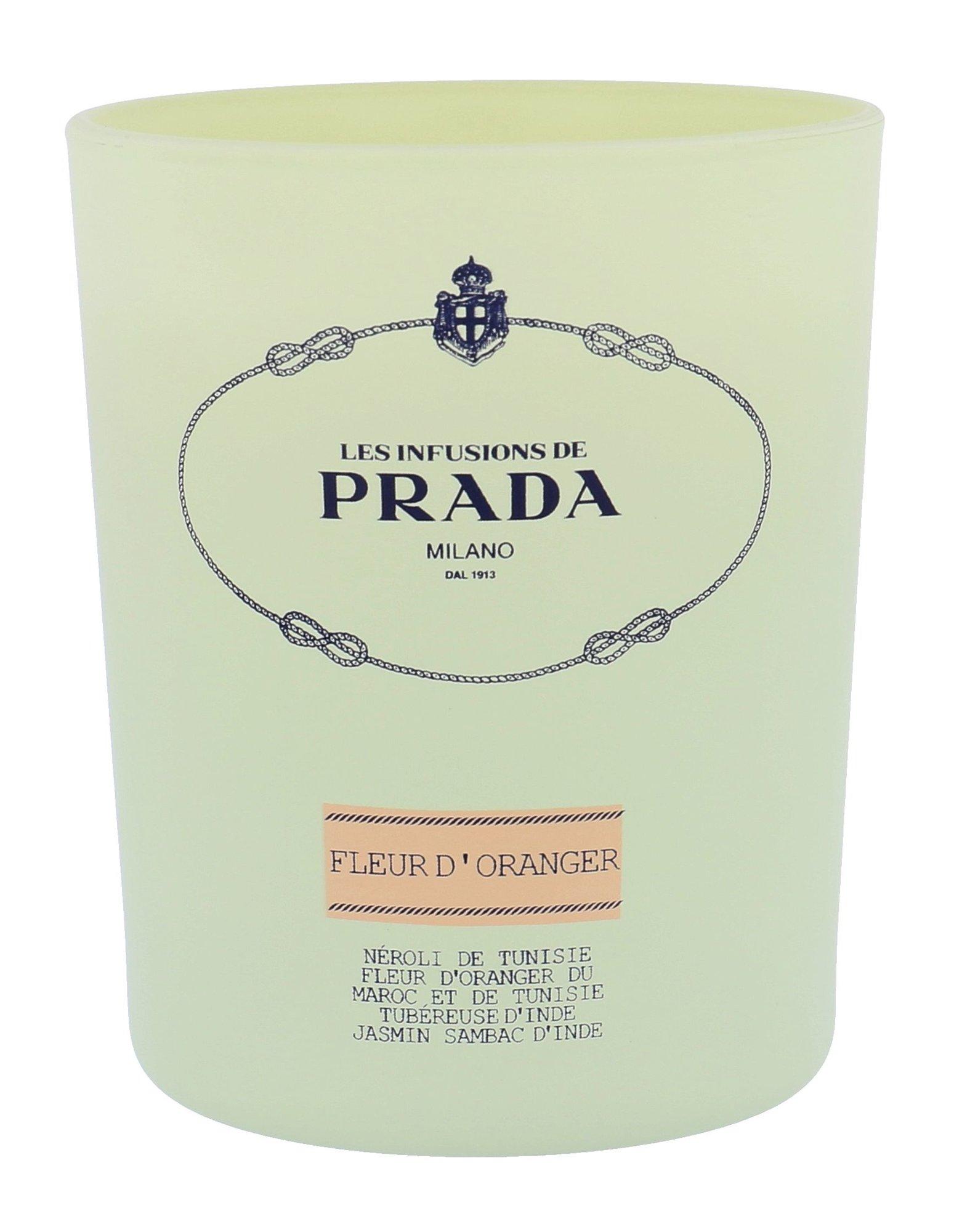 Prada Infusion De Fleur d´Oranger scented candle 140ml