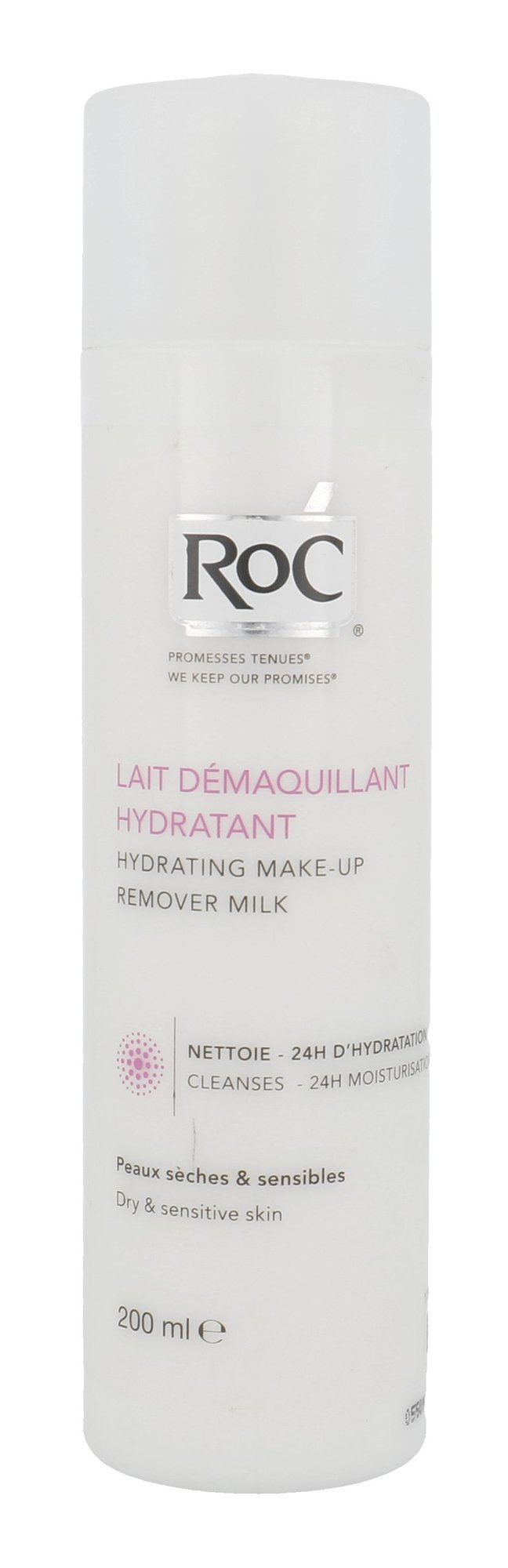 RoC Hydrating Make-Up Remover Milk Cosmetic 200ml