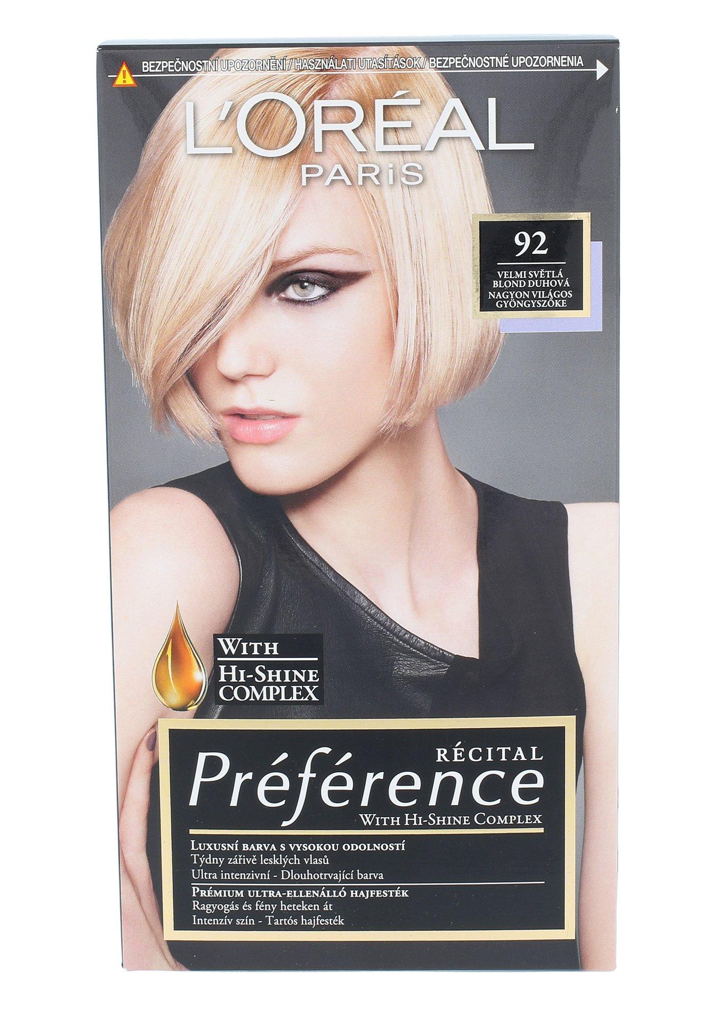 L´Oréal Paris Préférence Cosmetic 1ml 92