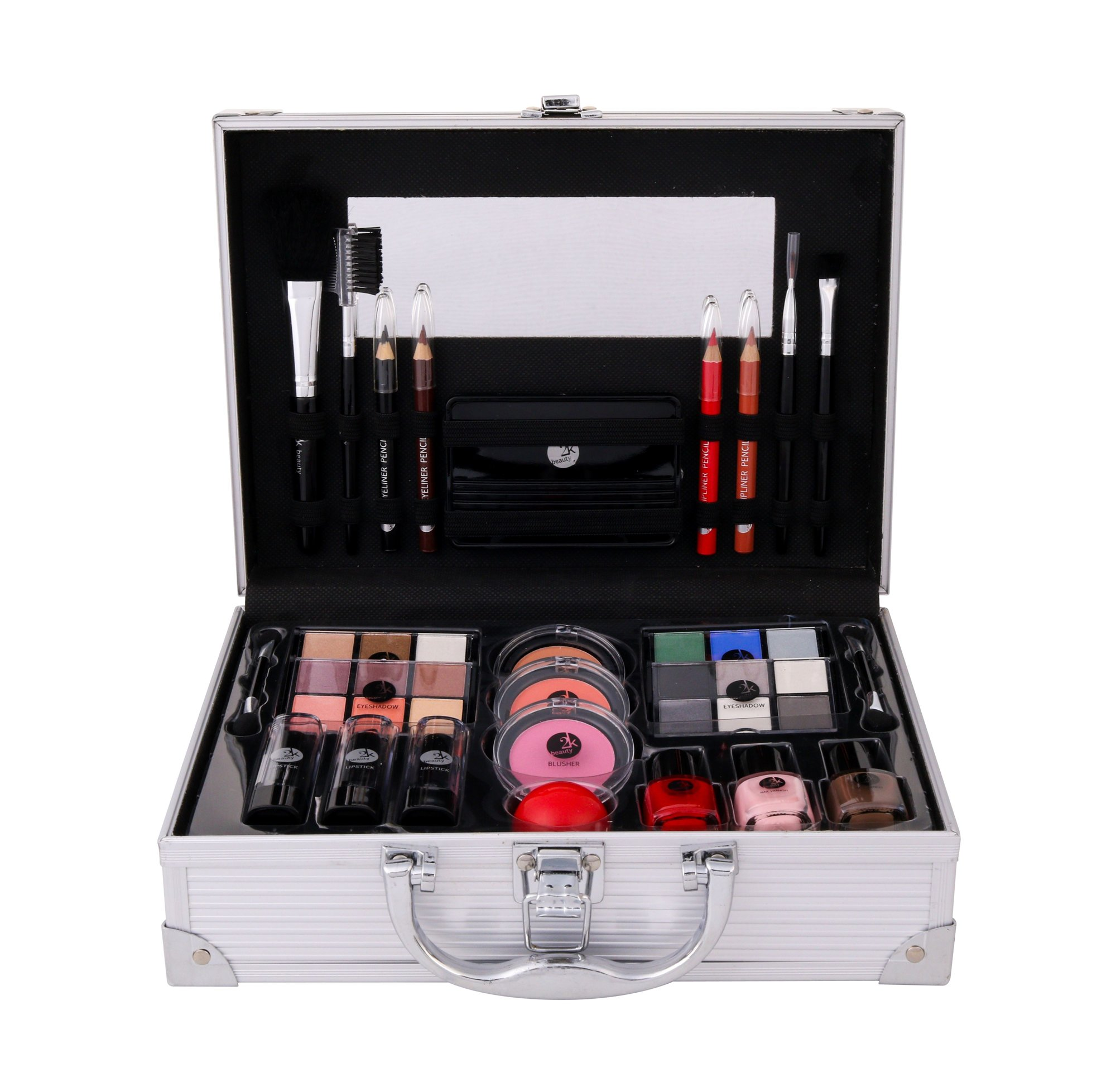 2K All About Beauty Train Case Cosmetic 60,2ml