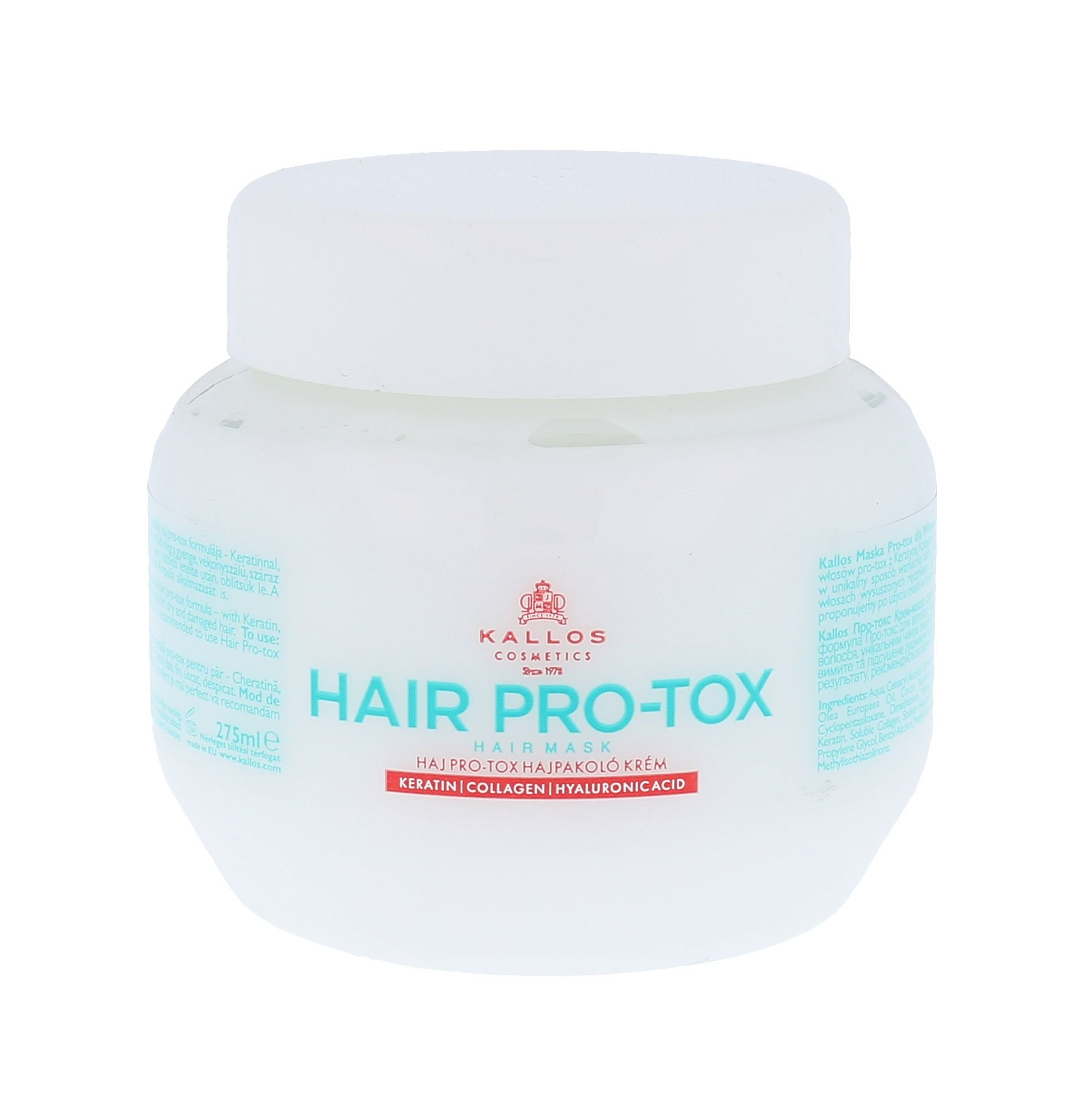 Kallos Cosmetics Hair Pro-Tox Cosmetic 275ml
