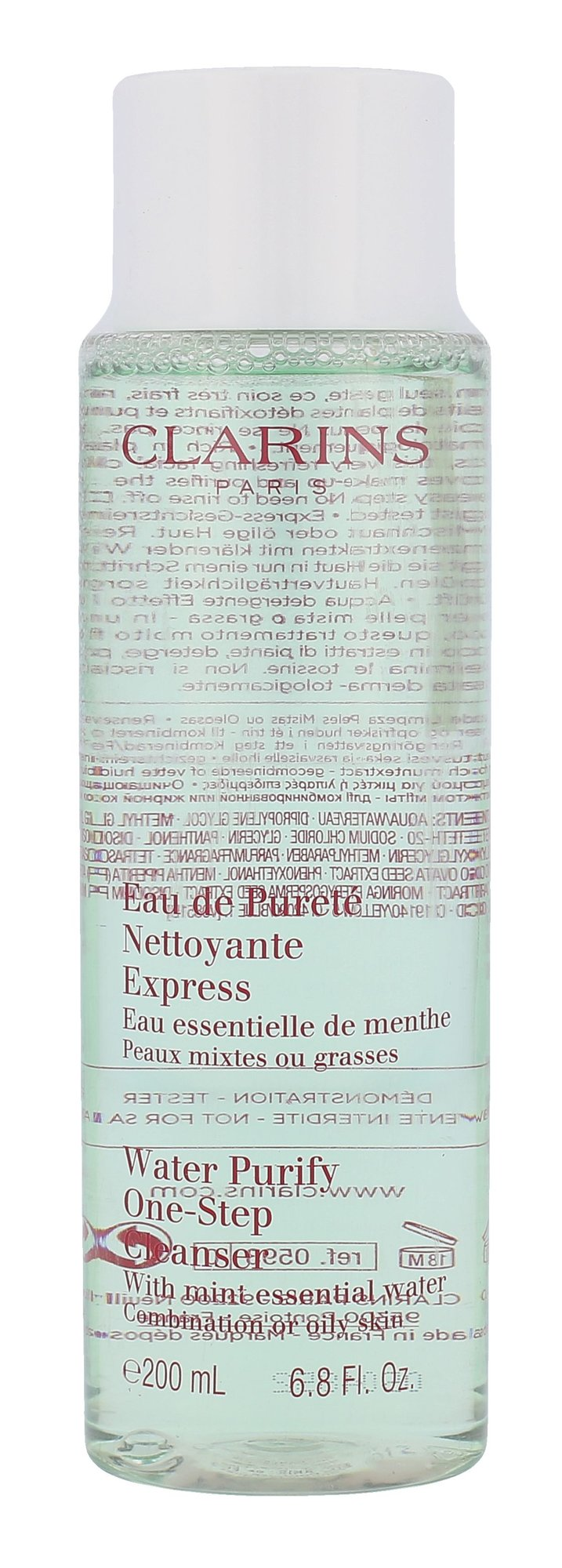 Clarins Water Purify One Step Cleanser Cosmetic 200ml