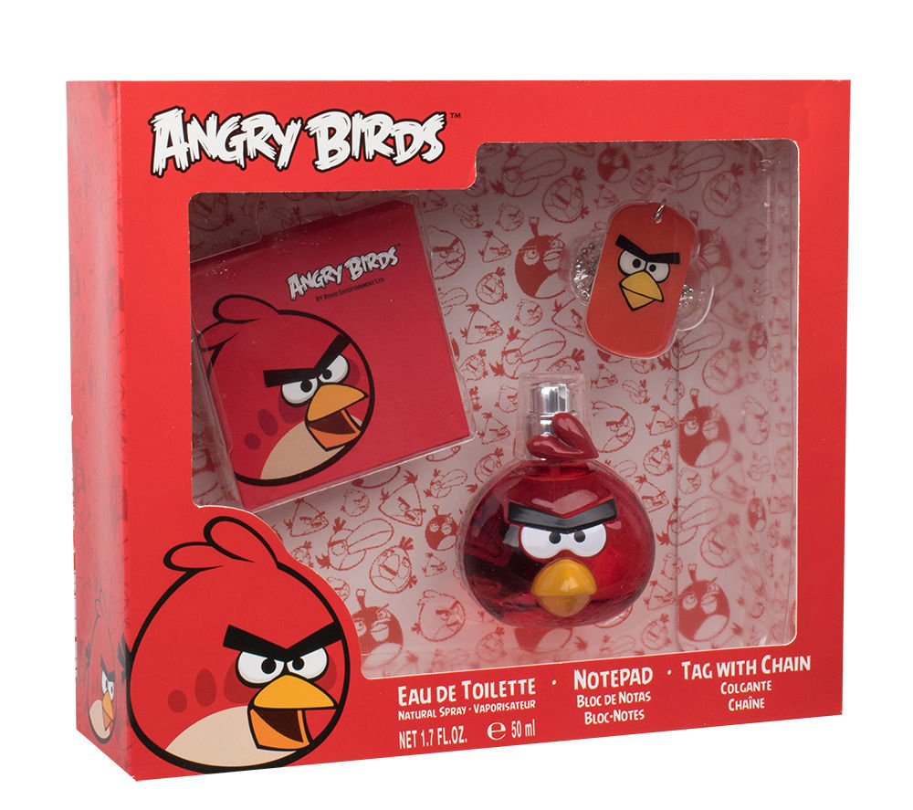 Angry Birds Angry Birds Red Bird EDT 50ml