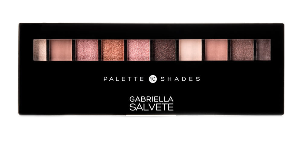 Gabriella Salvete Palette 10 Shades Cosmetic 12ml 01 Rose