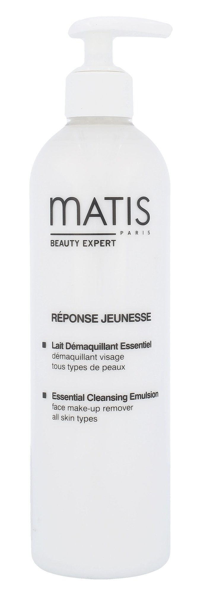 Matis Réponse Jeunesse Cosmetic 400ml  Essential Cleansing Emulsion