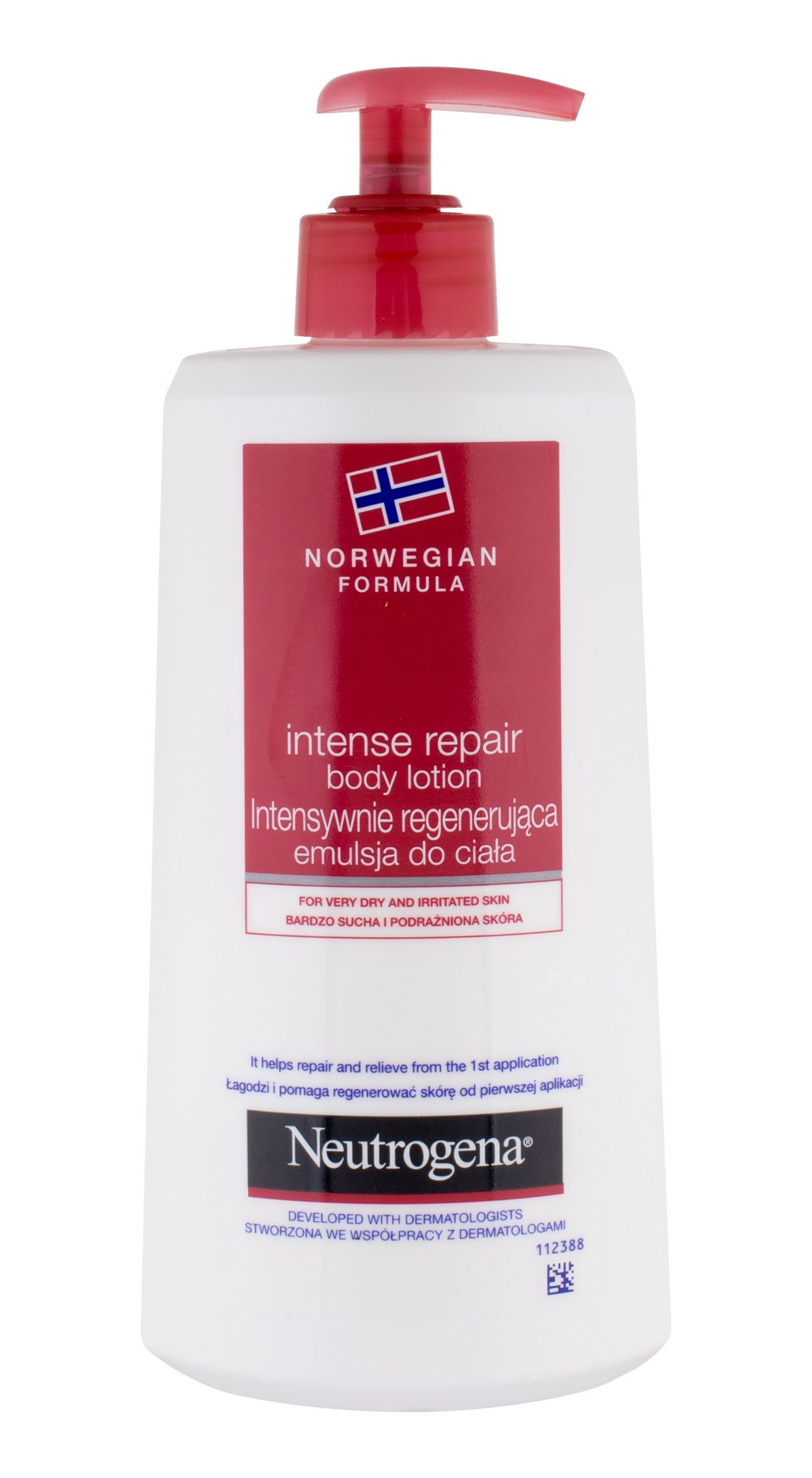 Neutrogena Norwegian Formula Cosmetic 400ml  Intense Repair