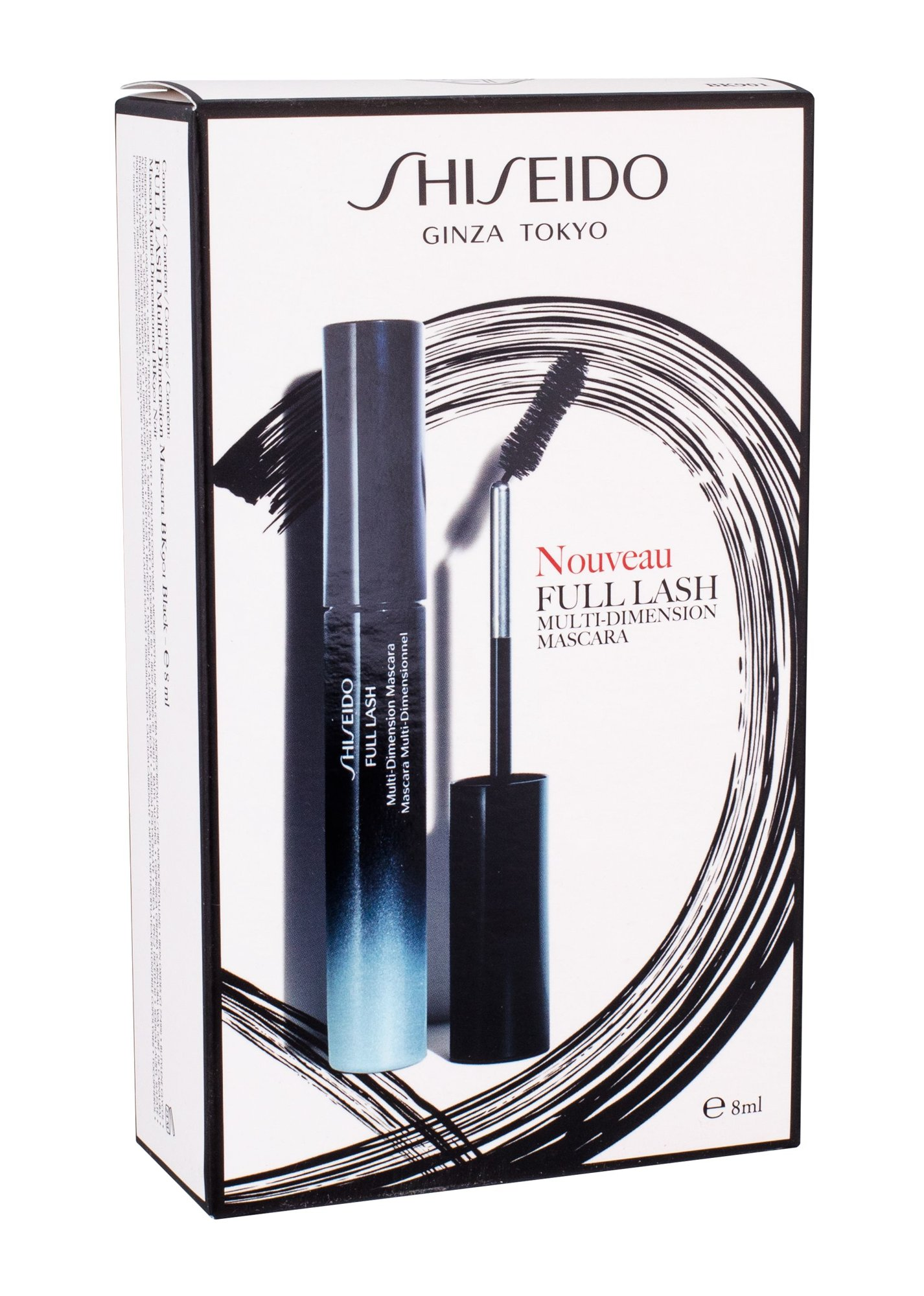 Shiseido Full Lash Cosmetic 8ml BK901 Black