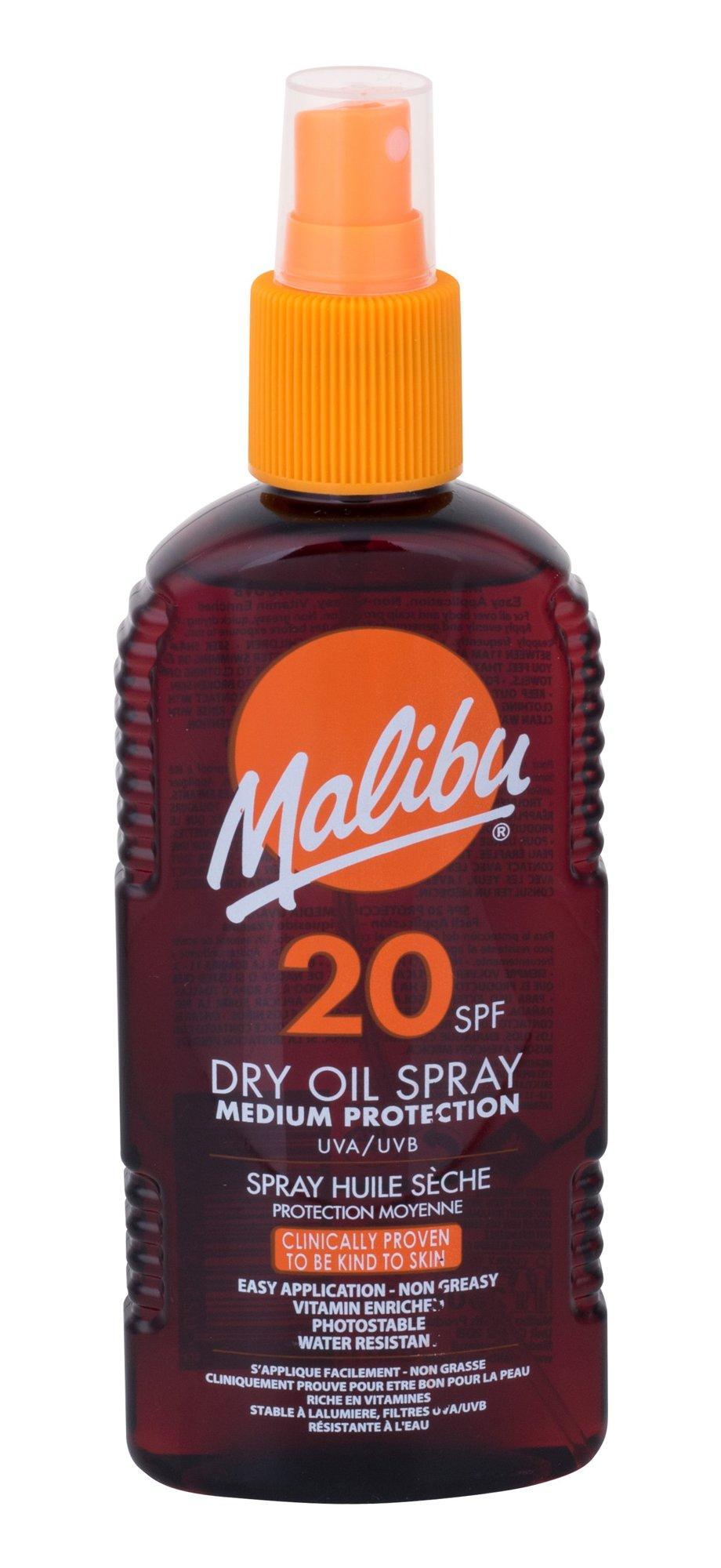 Malibu Dry Oil Spray Cosmetic 200ml