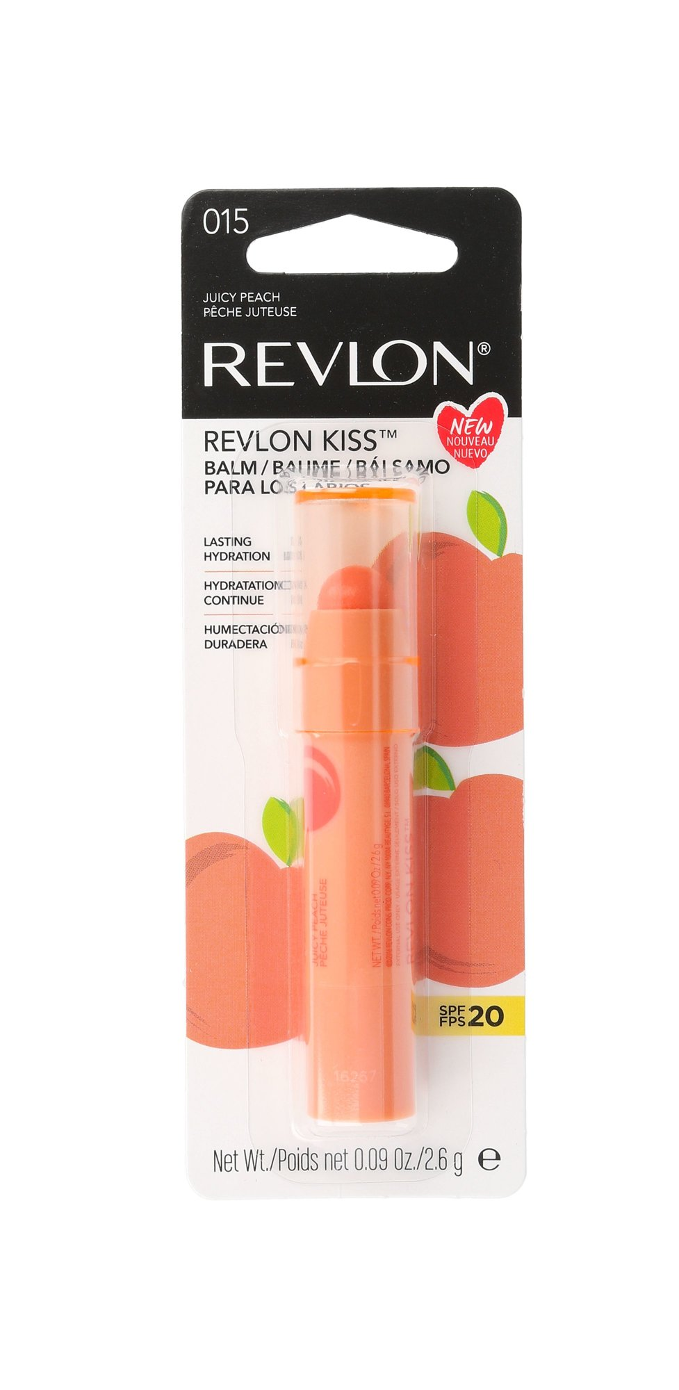 Revlon Revlon Kiss Cosmetic 2,6ml 015 Juicy Peach