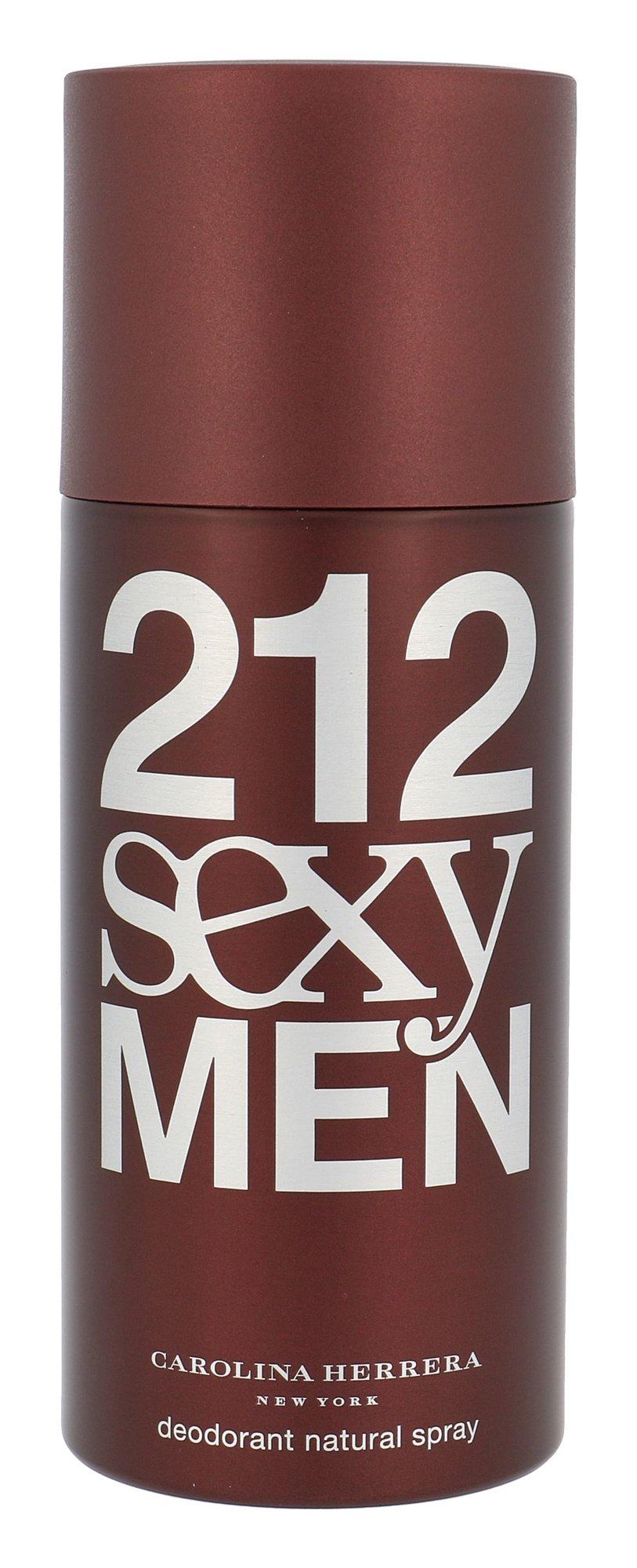 Carolina Herrera 212 Sexy Men Deodorant 150ml