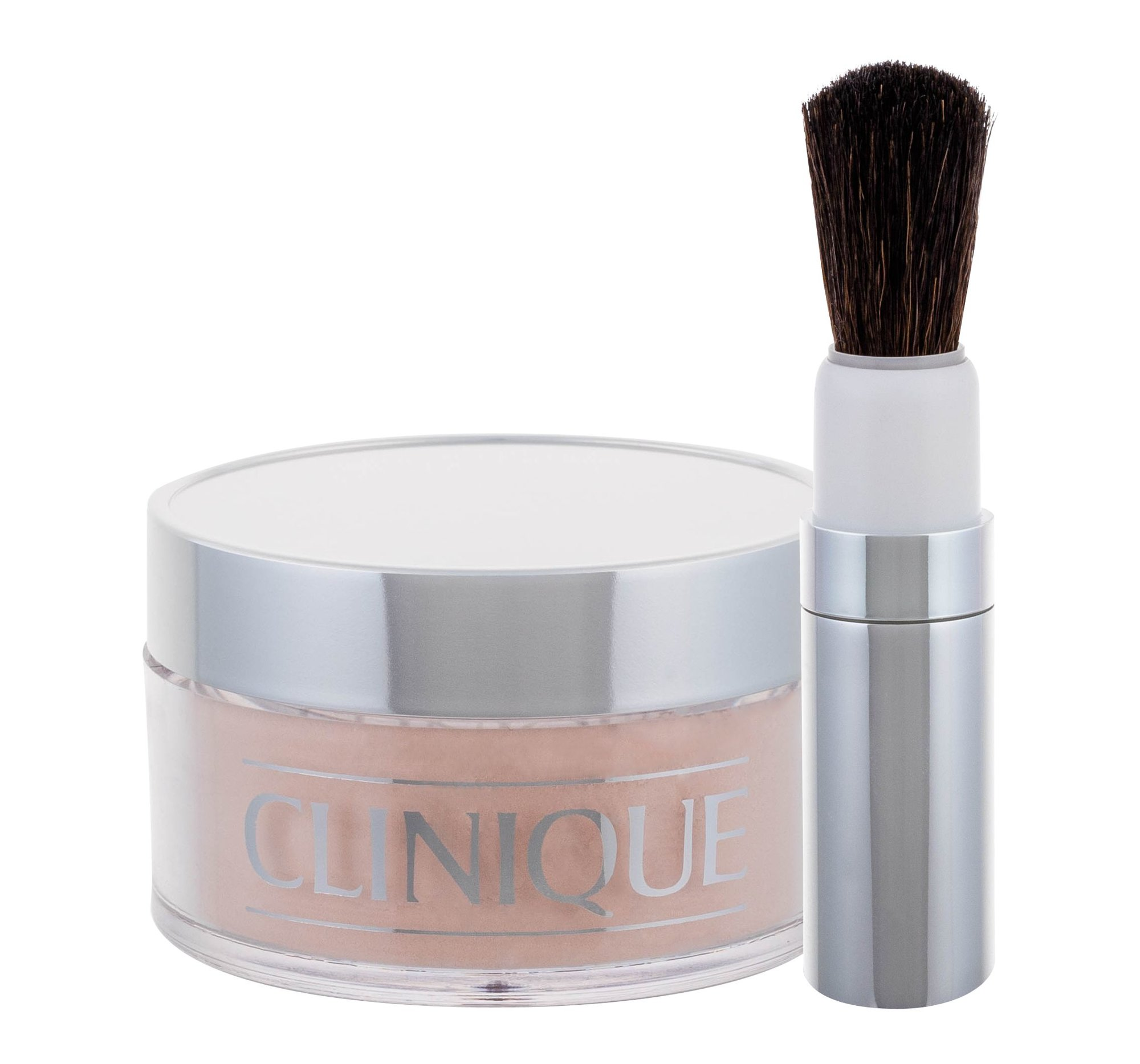 Clinique Blended Cosmetic 35ml 02 Transparency Face Powder And Brush