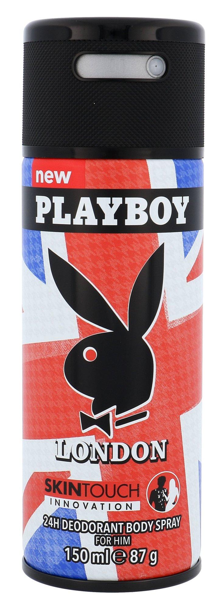 Playboy London Deodorant 150ml