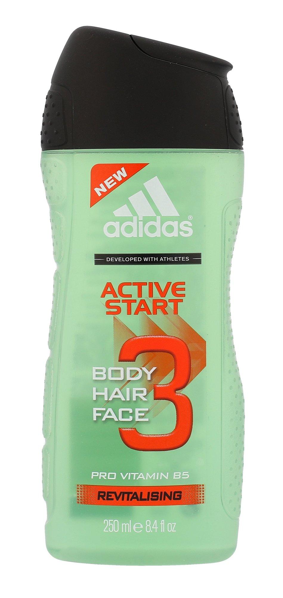 Adidas 3in1 Active Start Shower gel 250ml