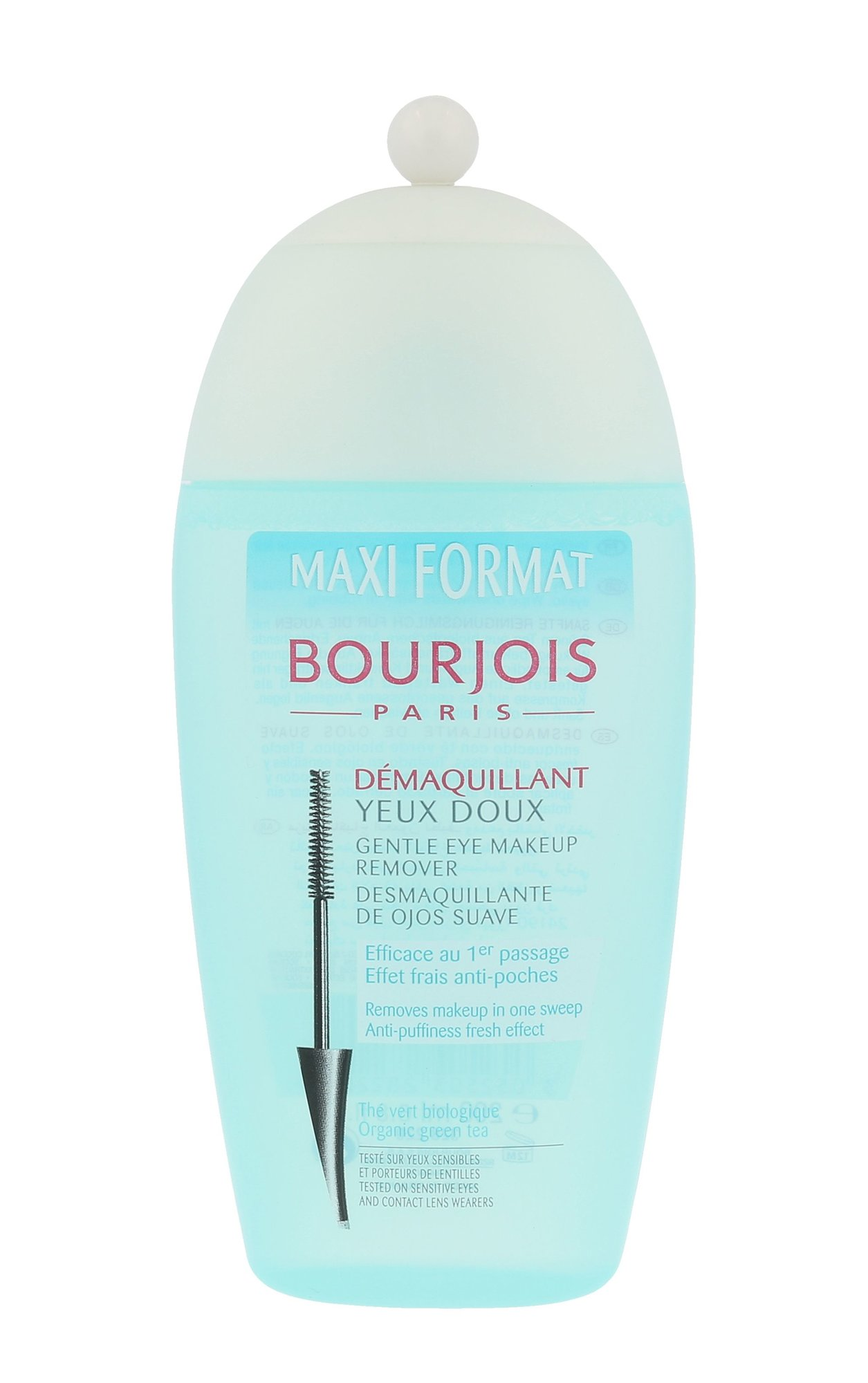 Blakstienų tušo valiklis BOURJOIS Paris Gentle Eye Makeup Remover