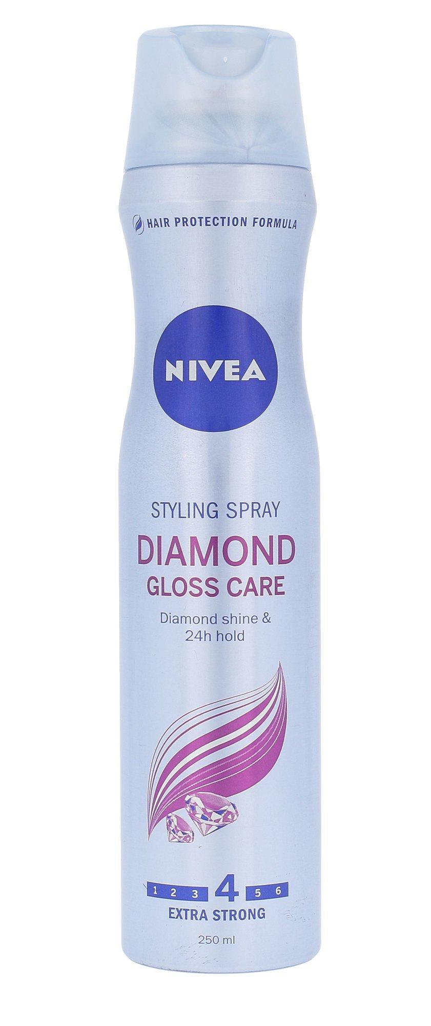 Nivea Diamond Gloss Care Cosmetic 250ml