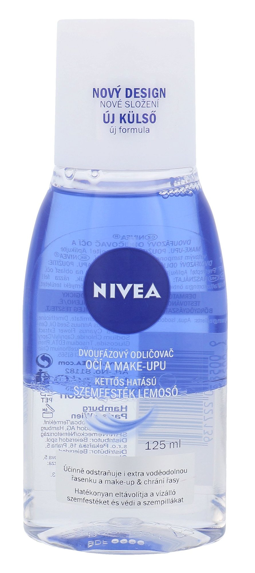 Nivea Double Effect Eye Make-up Remover Cosmetic 125ml