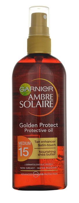 Garnier Ambre Solaire Cosmetic 150ml  Golden Protect Oil SPF30