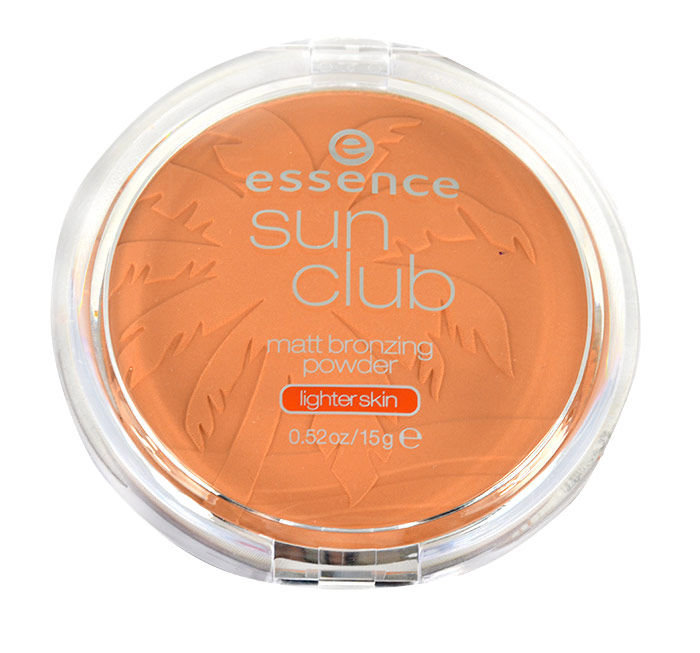 Essence Sun Club Cosmetic 15ml 02 Sunny Matt Brozing Powder
