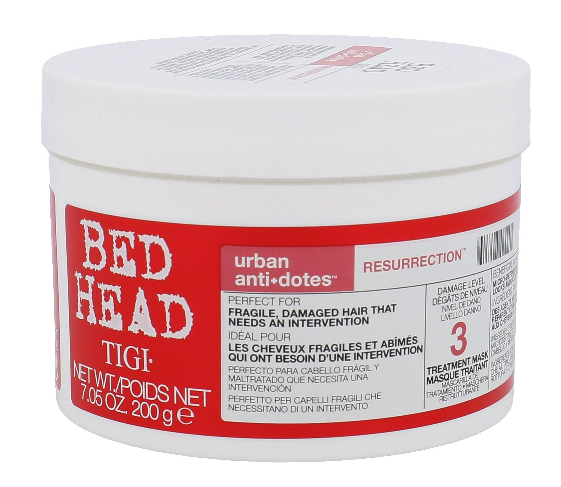 Tigi Bed Head Urban Antidotes Resurrection Mask Cosmetic 200g